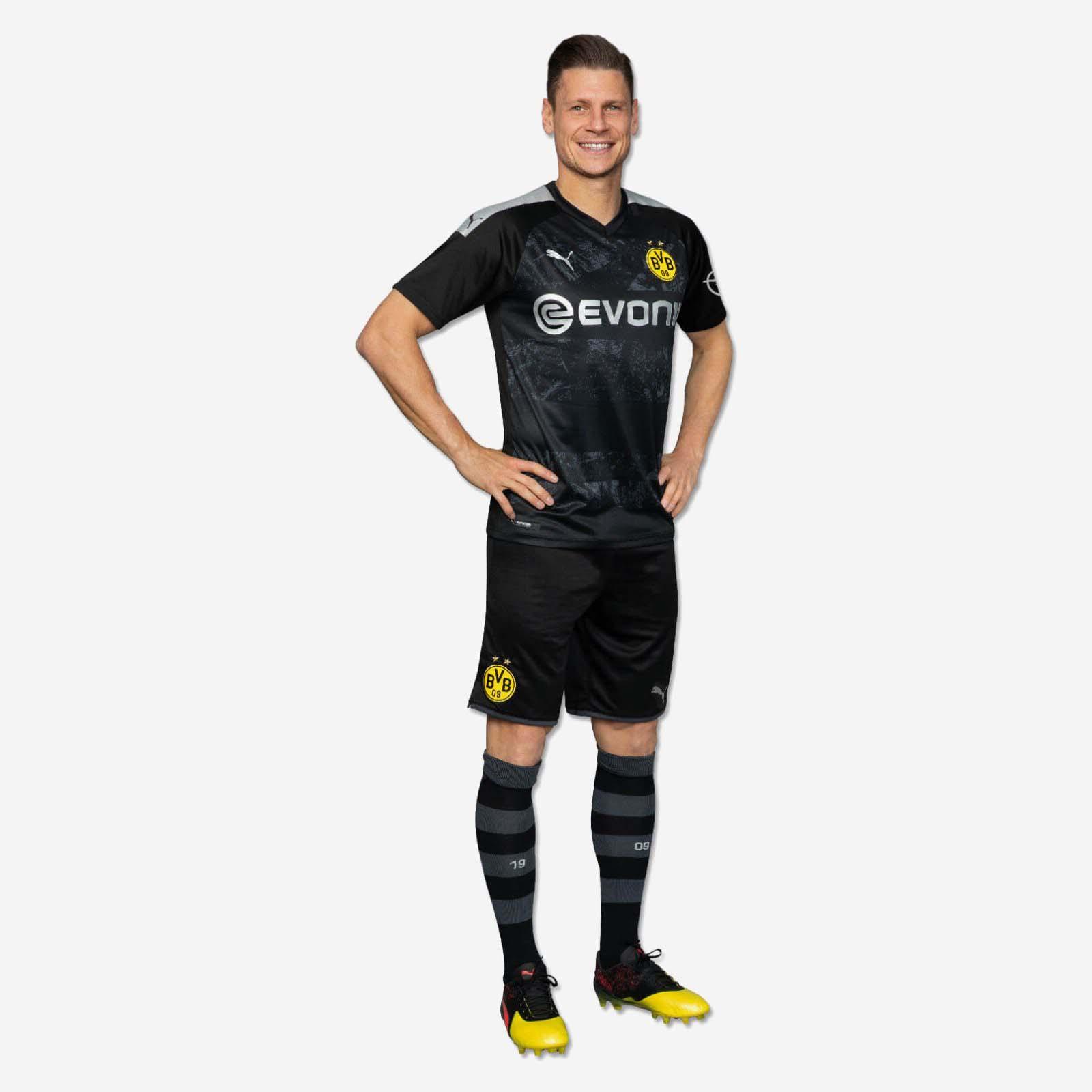 19 20 Borussia Dortmund Away Black Soccer Jerseys Shirt Player Version Borussia Dortmund Soccerdealshop